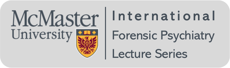 logo for the International Forensic Psychiatry Lecture Series