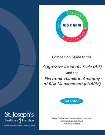 Cover of the Companion Guide to the Aggressive Incidents Scale (AIS) and the Electronic Hamilton Anatomy of Risk Management (eHARM)